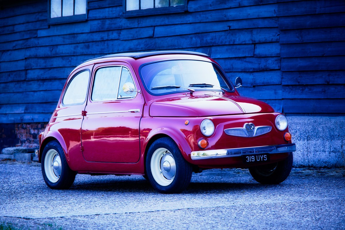 1962 Even rarer than an Abarth - Steyr Puch 500 SOLD (picture 1 of 3)