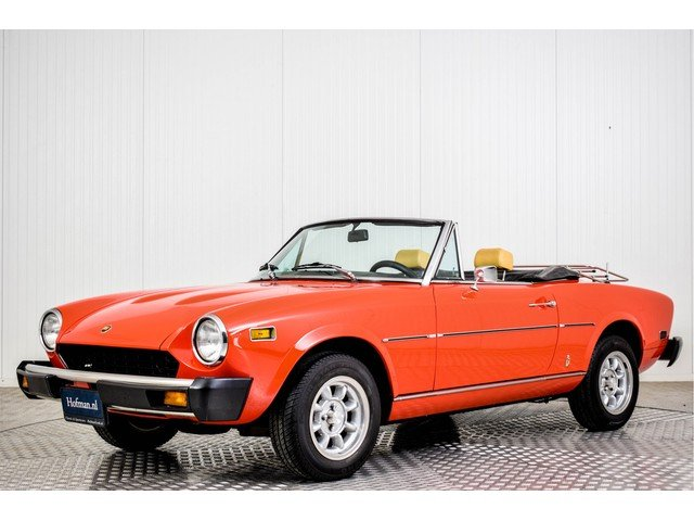 1978 Fiat 124 Spider 1800 For Sale (picture 1 of 6)