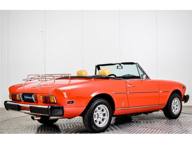 1978 Fiat 124 Spider 1800 For Sale (picture 2 of 6)