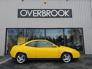 1998 FIAT COUPE 20V TURBO  75K MILES  'Broom Yellow' For Sale