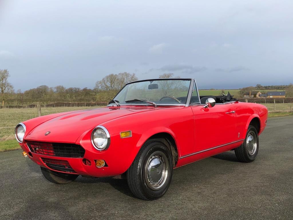 1978 Fiat 124 Sport Spider CS1 SOLD (picture 1 of 6)
