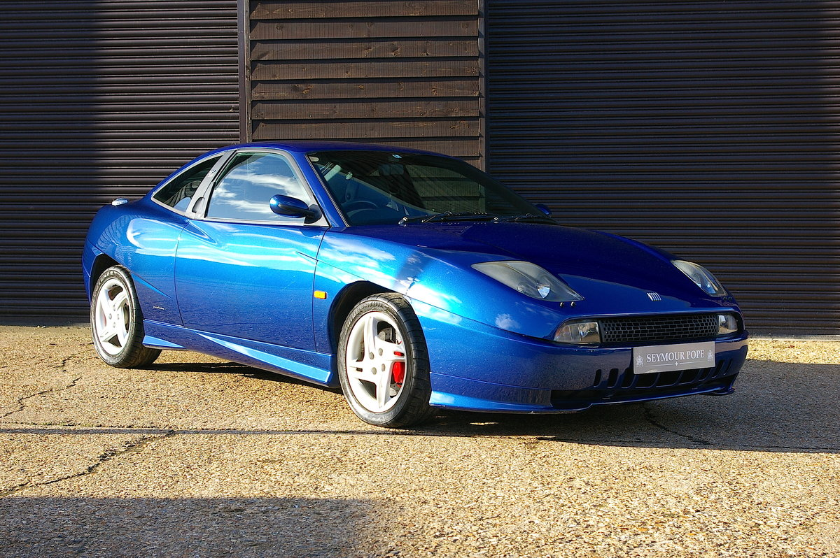 2001  Fiat Coupe 20v Turbo 'Plus' 6 Speed Manual (8,298 miles) SOLD (picture 1 of 6)