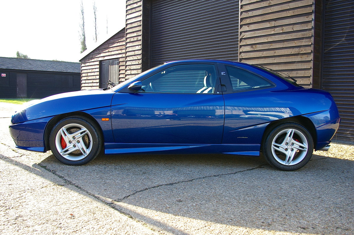 2001  Fiat Coupe 20v Turbo 'Plus' 6 Speed Manual (8,298 miles) SOLD (picture 2 of 6)