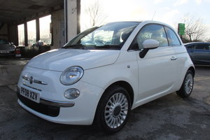 2008 FIAT 500 1.2 LOUNGE 3DR SOLD
