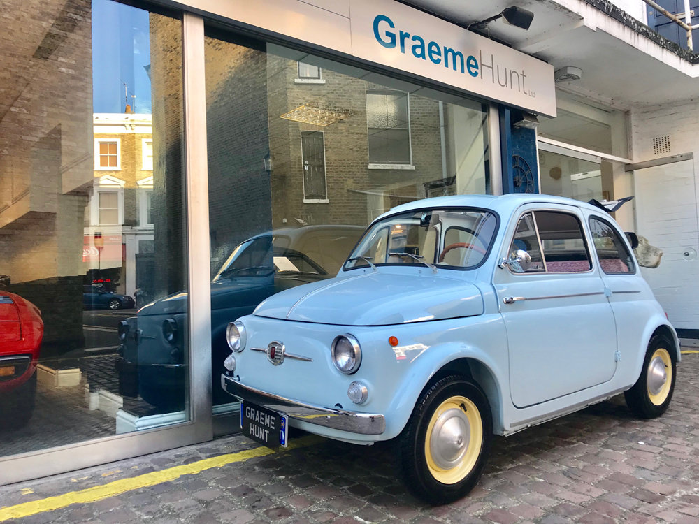1963 Fiat 500D Transformabile For Sale (picture 1 of 6)