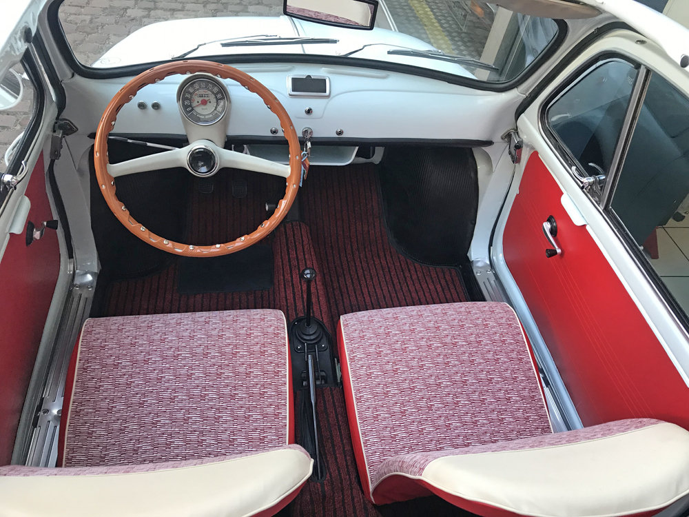 1963 Fiat 500D Transformabile For Sale (picture 2 of 6)