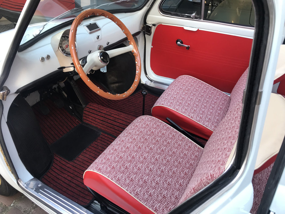 1963 Fiat 500D Transformabile SOLD (picture 3 of 6)