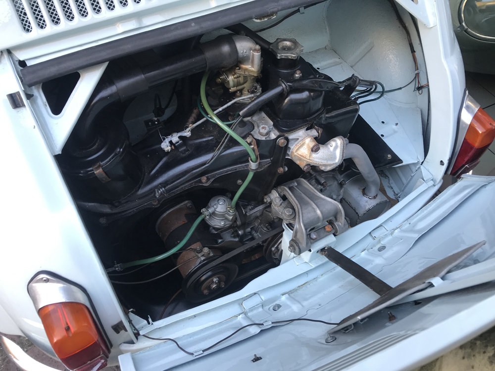 1963 Fiat 500D Transformabile For Sale (picture 6 of 6)