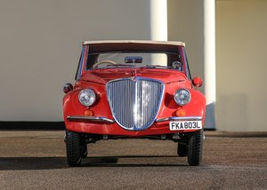 1972 Fiat 500 Gamine by Vignale SOLD by Auction