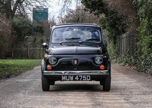 1966 Fiat 500F SOLD by Auction