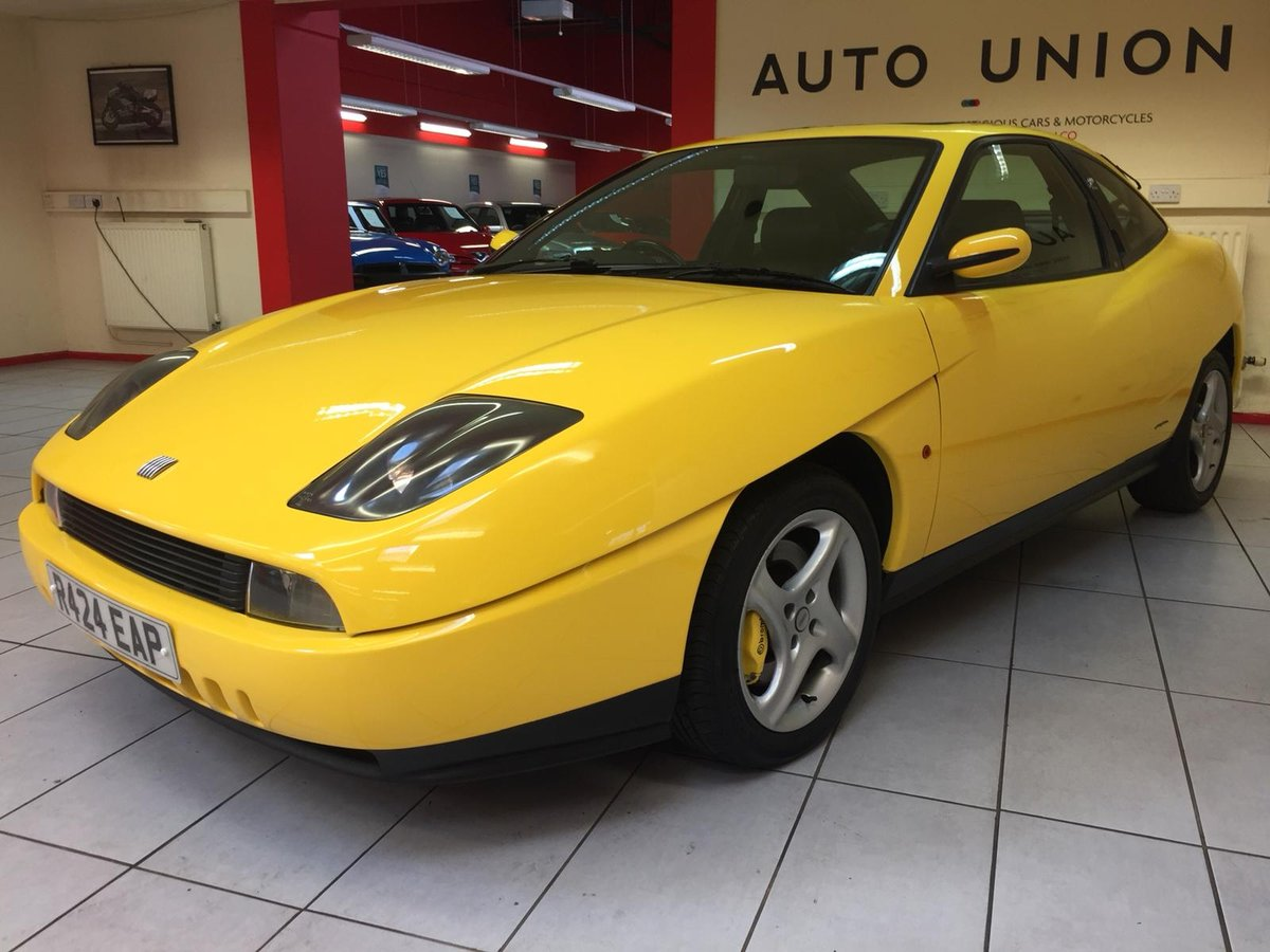 1997 FIAT COUPE 20V TURBO For Sale (picture 2 of 6)