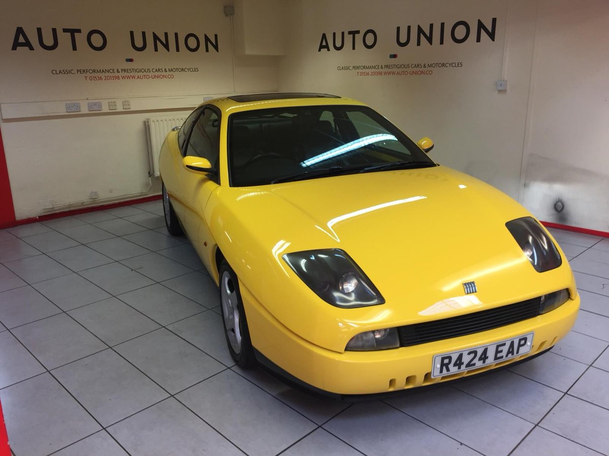 1997 FIAT COUPE 20V TURBO For Sale (picture 4 of 6)
