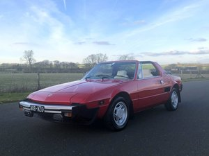 1981 Fiat X1/9 1500cc 5 Speed Targa SOLD