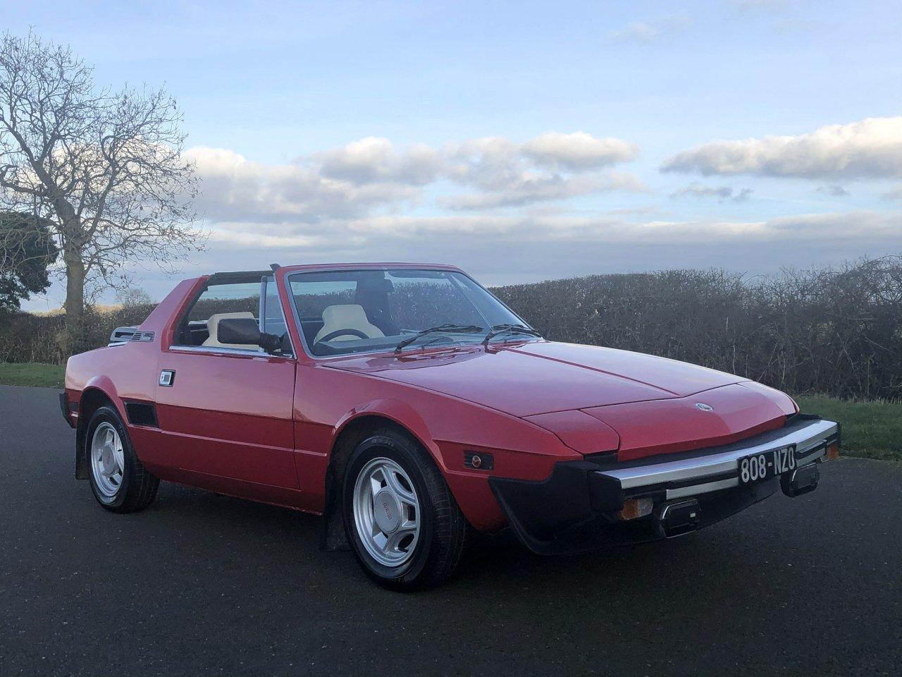 1981 Fiat X1/9 1500cc 5 Speed Targa SOLD (picture 3 of 6)