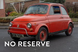 1972 Fiat 500L - RHD 1 Owner - on The Market SOLD by Auction
