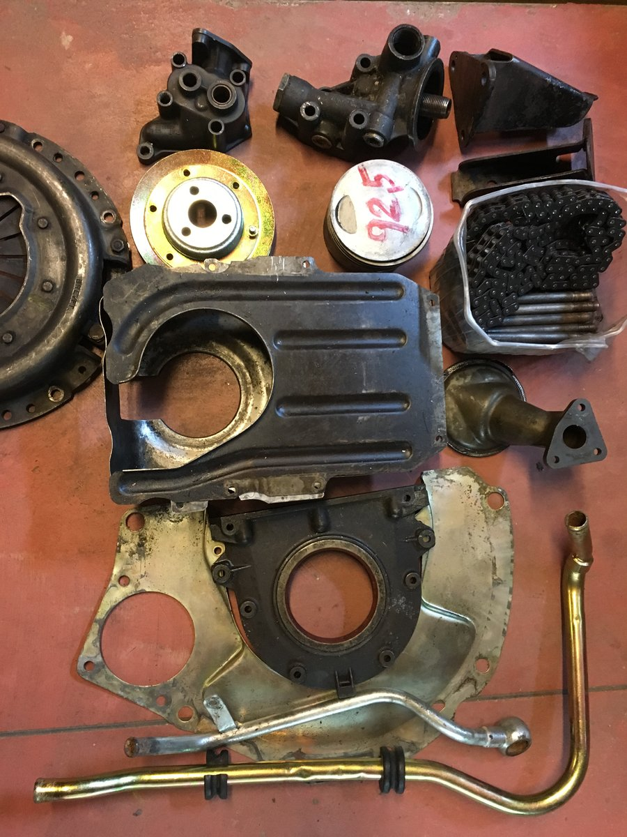 1970 Lot spare parts DINO FIAT For Sale (picture 2 of 2)