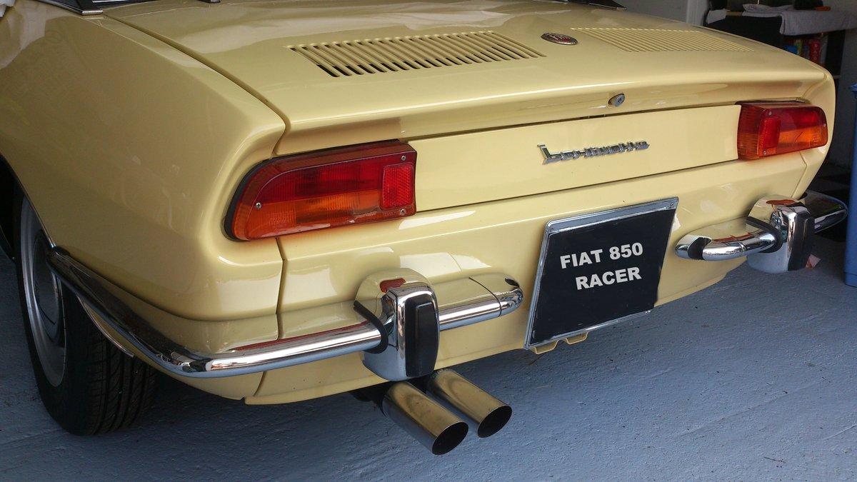 1969 FIAT 850 RACER BERLINETTA BERTONE RENOVATED For Sale (picture 4 of 6)