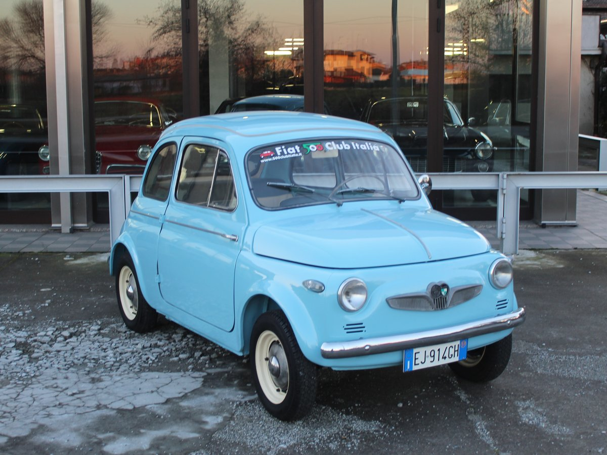 1967 Fiat 500 N Syer Puch 500 D For Sale (picture 1 of 6)