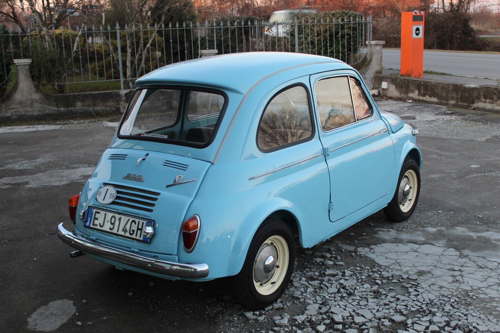 1967 Fiat 500 N Syer Puch 500 D For Sale (picture 2 of 6)