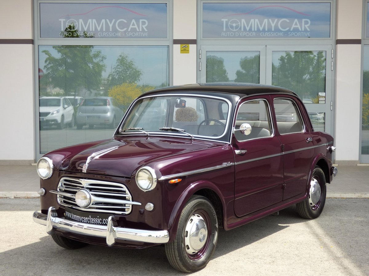 1955 Fiat 1100 TV High level professional restoration For Sale (picture 1 of 6)