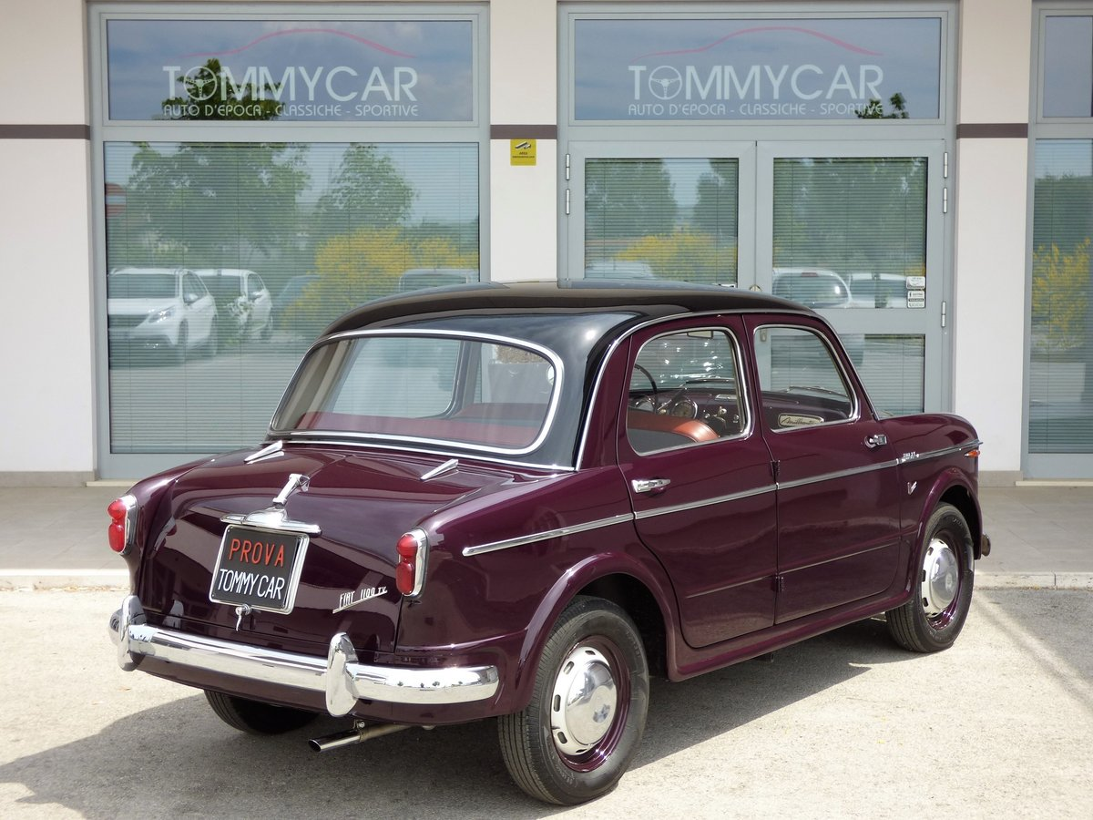 1955 Fiat 1100 TV High level professional restoration For Sale (picture 2 of 6)