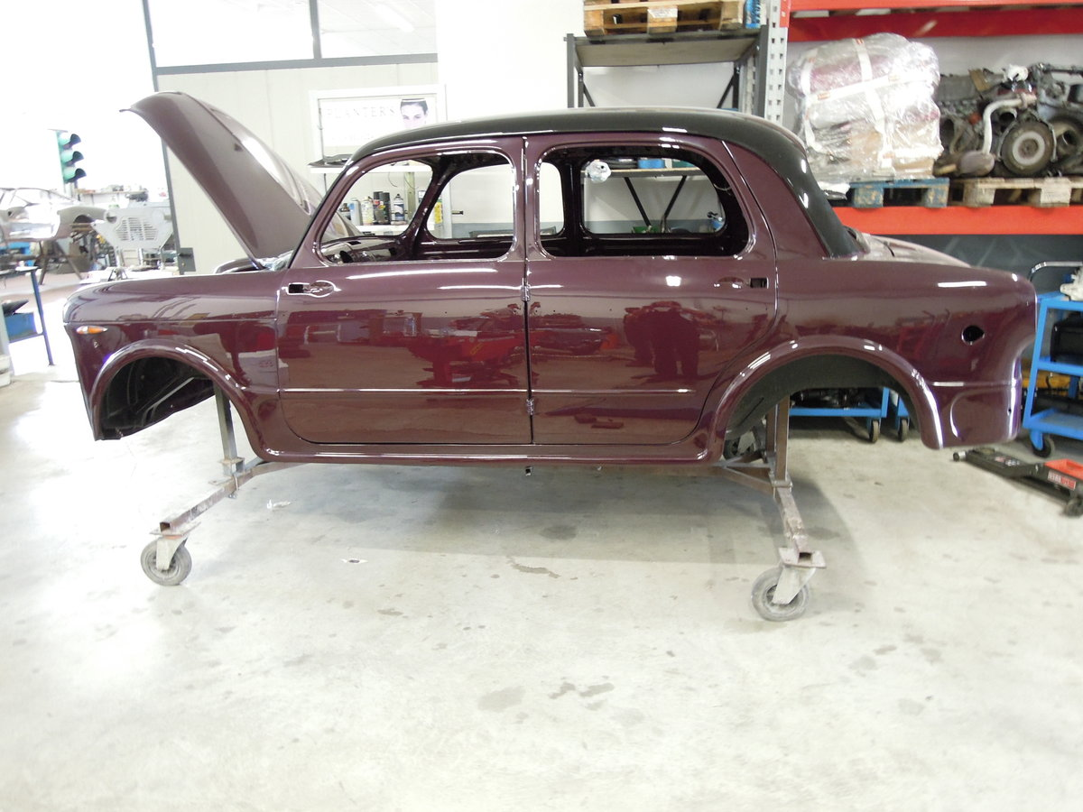 1955 Fiat 1100 TV High level professional restoration For Sale (picture 5 of 6)