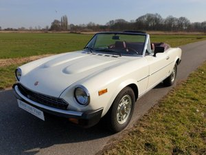 1979 Fiat 124 Spider   For Sale