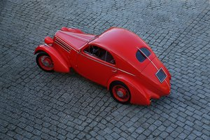 "1935 – Fiat 508 CS Balilla Aerodinamica ""Mille Miglia"" SOLD by Auction"