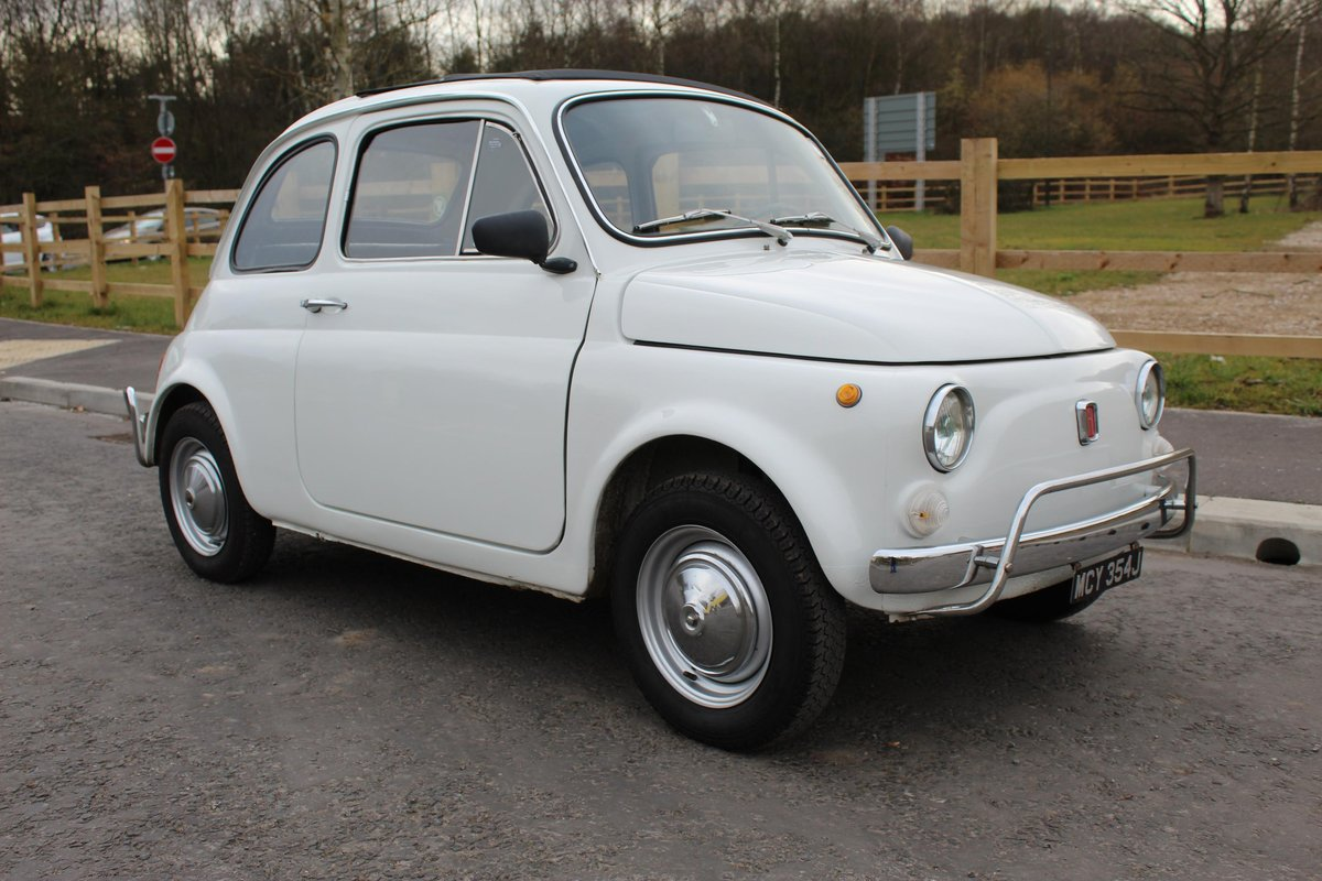 1971 Fiat 500 L Original LHD imported from Italy Beautiful  SOLD (picture 1 of 6)