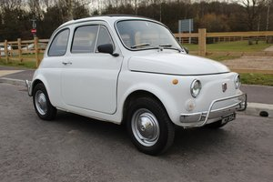 1971 Fiat 500 L Original LHD imported from Italy Beautiful  SOLD