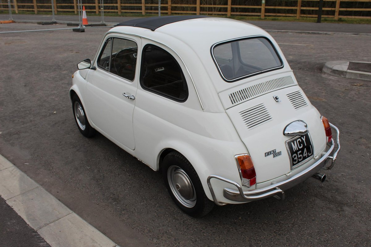 1971 Fiat 500 L Original LHD imported from Italy Beautiful  SOLD (picture 3 of 6)