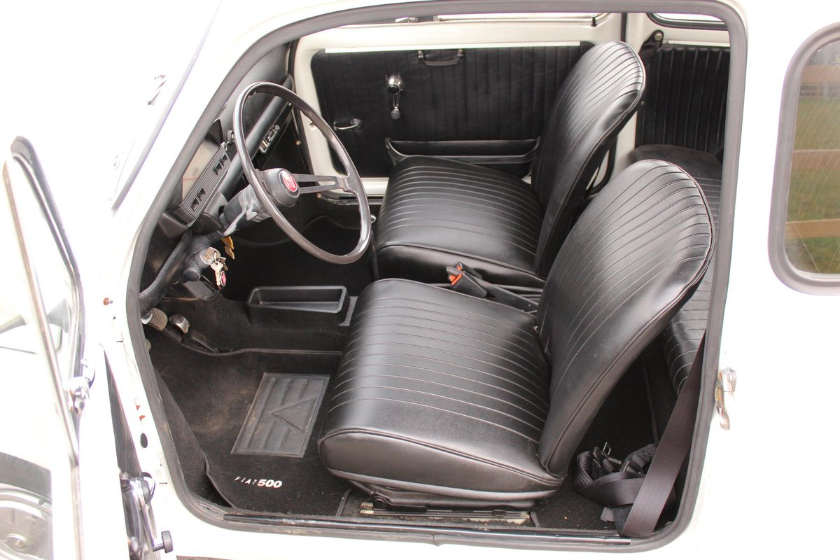 1971 Fiat 500 L Original LHD imported from Italy Beautiful  SOLD (picture 4 of 6)