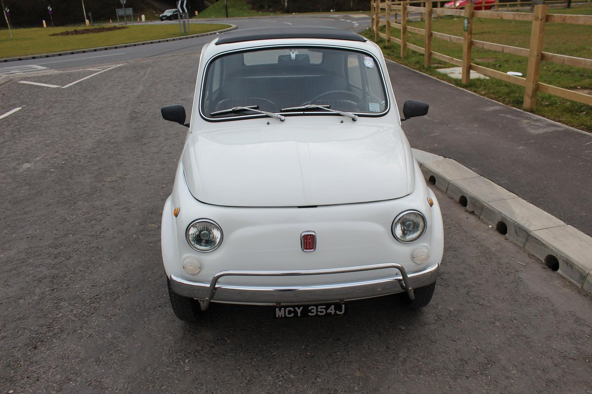 1971 Fiat 500 L Original LHD imported from Italy Beautiful  SOLD (picture 6 of 6)