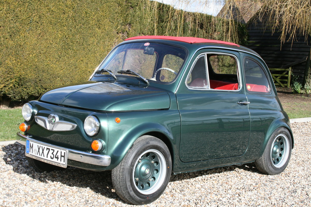 1973 Fiat 500, Steyr Puch 500 S.Excellent Throughout.Very Rare For Sale (picture 1 of 6)