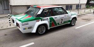 1981 Fiat 131 Abarth Tribute - Full Restored & Mint - Big Spec For Sale