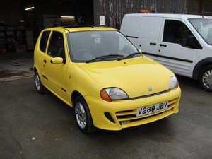 1999 FIAT SEICENTO 1.1 SPORTING. **Only 23,000 miles** For Sale