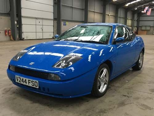 1999 Fiat Coupe 20v Turbo at Morris Leslie Auction 25th May SOLD by Auction (picture 1 of 6)
