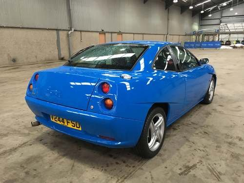 1999 Fiat Coupe 20v Turbo at Morris Leslie Auction 25th May SOLD by Auction (picture 2 of 6)
