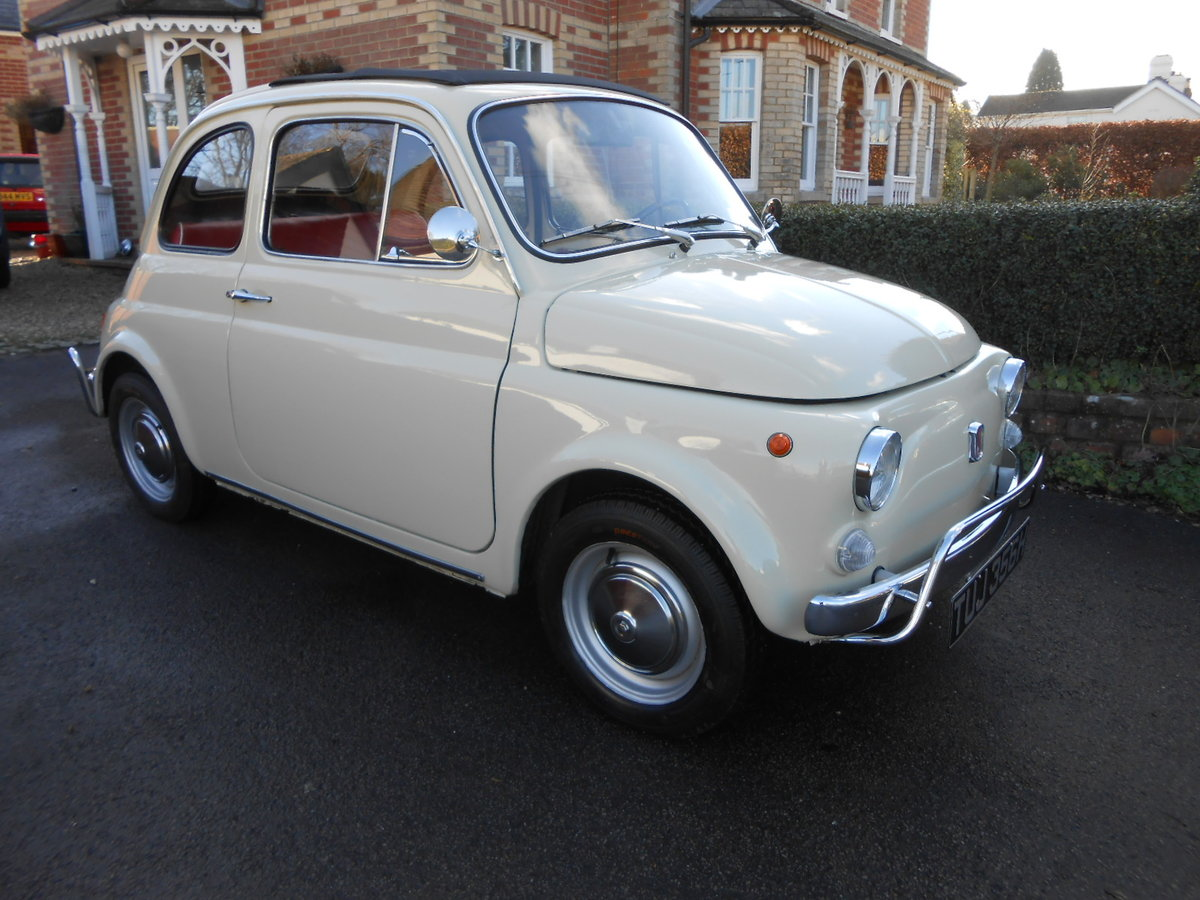1970 Fiat 500l berlinina For Sale (picture 1 of 6)
