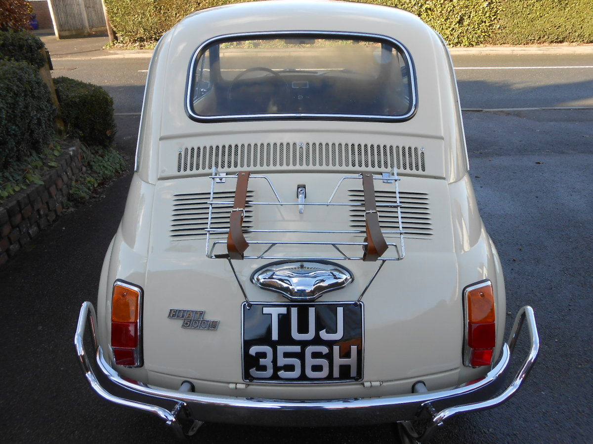 1970 Fiat 500l berlinina For Sale (picture 4 of 6)