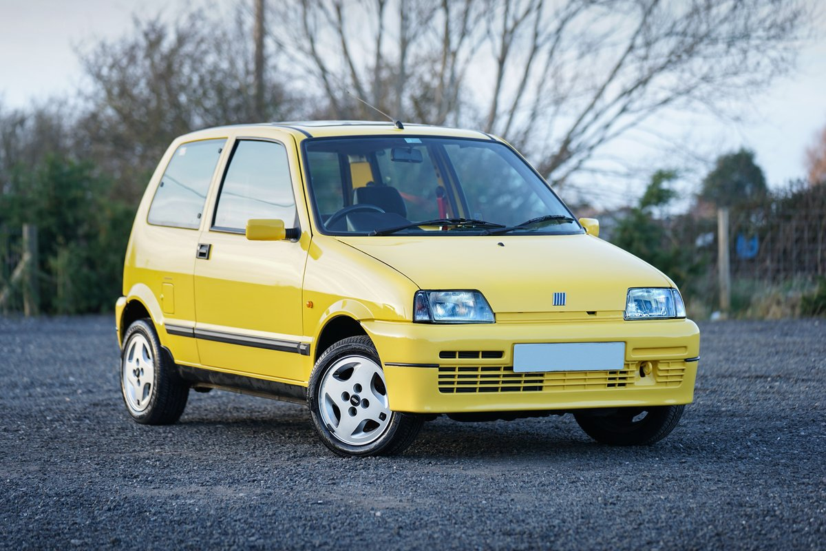 Fiat Cinquecento Sporting 1994 24,000 Miles From New For Sale (picture 1 of 6)