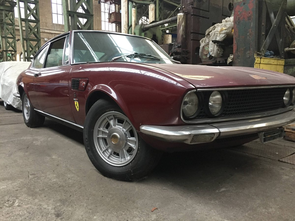 1972 Fiat Dino coupé 2.4 project For Sale (picture 1 of 6)