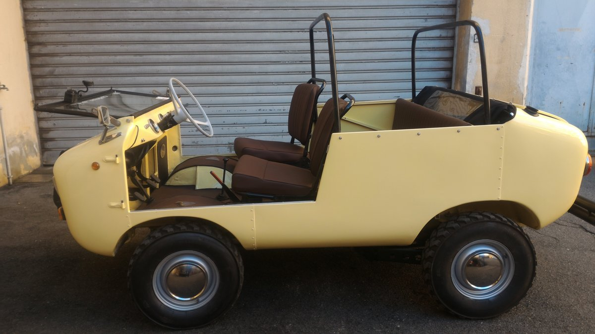 1969 Rare FERVES RANGER 4x4 Fiat 500 600 Derivative For Sale (picture 1 of 6)