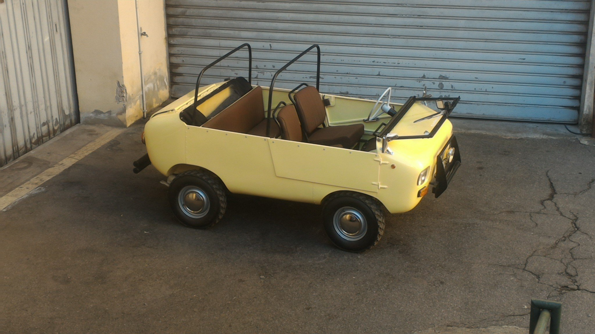 1969 Rare FERVES RANGER 4x4 Fiat 500 600 Derivative For Sale (picture 2 of 6)