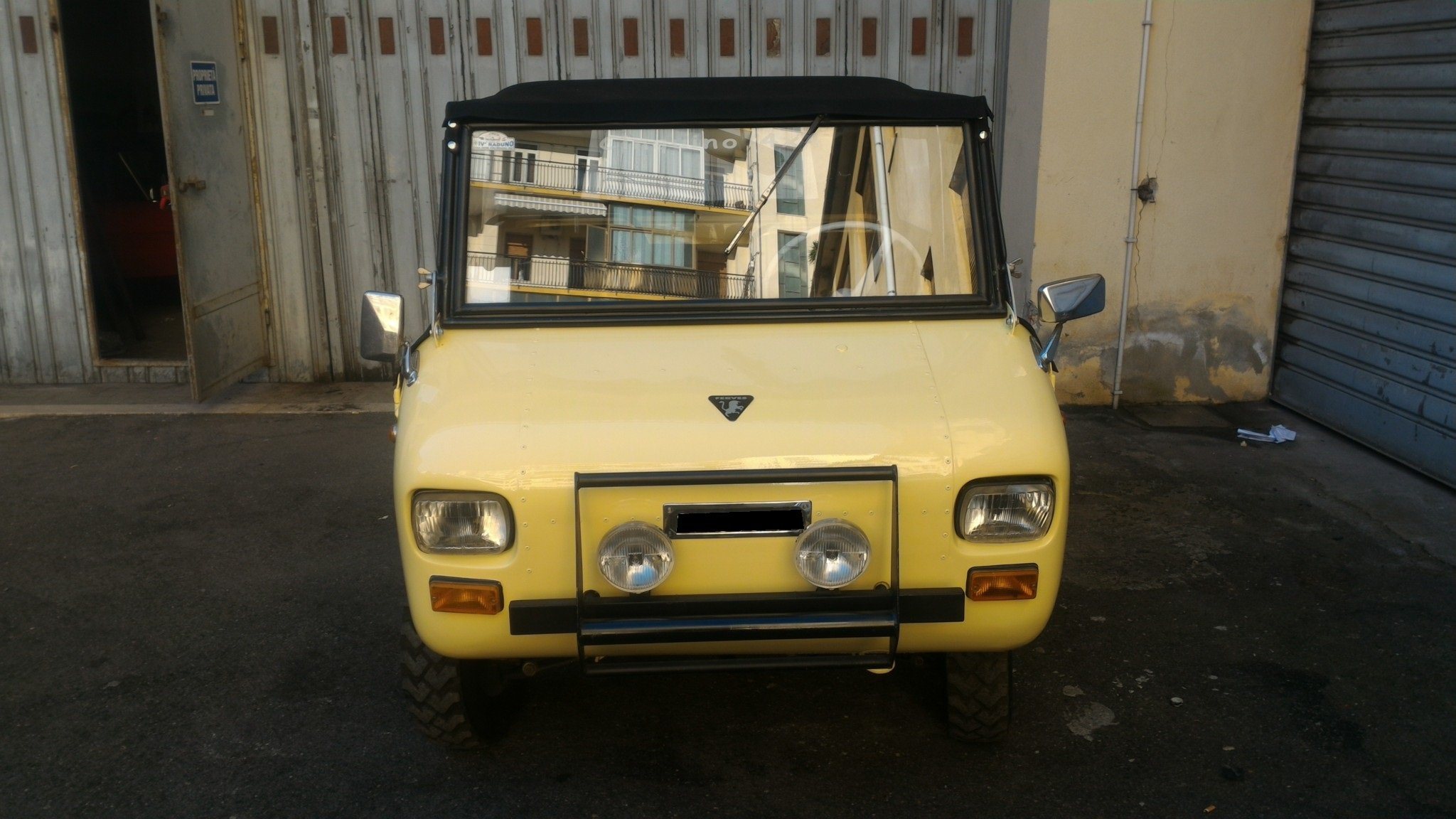 1969 Rare FERVES RANGER 4x4 Fiat 500 600 Derivative For Sale (picture 4 of 6)