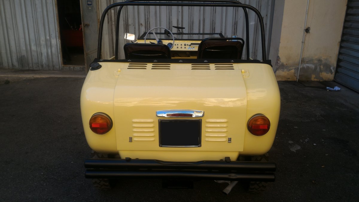 1969 Rare FERVES RANGER 4x4 Fiat 500 600 Derivative For Sale (picture 5 of 6)