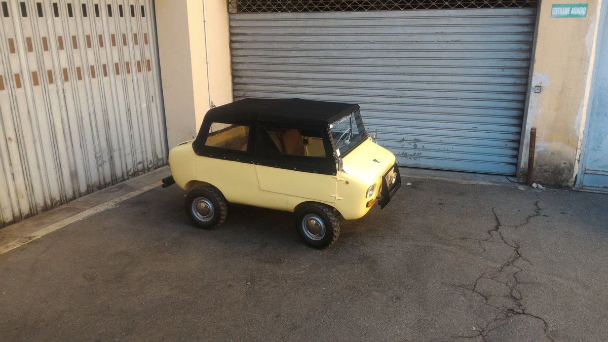 1969 Rare FERVES RANGER 4x4 Fiat 500 600 Derivative For Sale (picture 6 of 6)