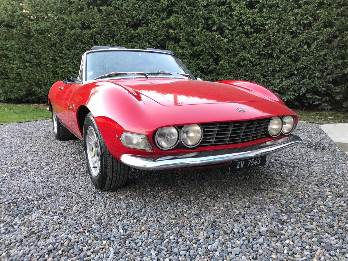 Stunning 1968 Fiat Dino Spider For Sale (picture 2 of 6)