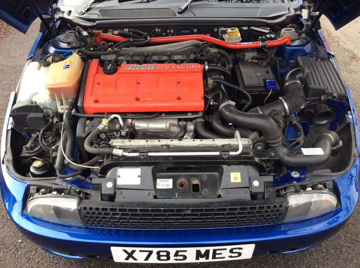2000 Fiat Coupe Plus electric blue For Sale (picture 6 of 6)