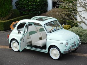 Fiat 500D Trasformabile 1961 LHD Italian Survivor Time Warp For Sale